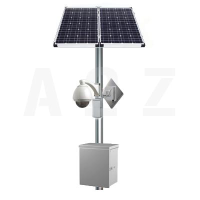 Solar powered Surveillance System to monitor city traffic